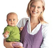 Deux tuniques mode à tricoter, explications gratuites
