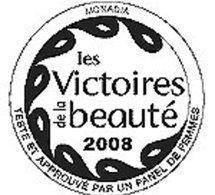 Victoires de la Beauté 2008, testées par les consommatrices