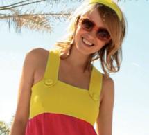 Explications gratuites : une robe à bretelle et un vide-poches mural